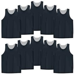 10x Lot TopTie Men's Tank Top Reversible Mesh Basketball Jer