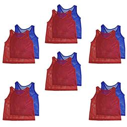 Adorox Adult - Teens Scrimmage Practice Jerseys Team Pinnies