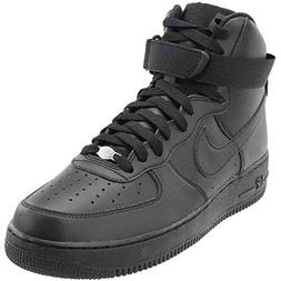 Nike Men's Air Force 1 High 07 Basketball Shoe, FLT Black, 9