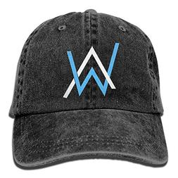 Mike Tanner Alan Walker AW Logo Unisex Washed Baseball Cap A
