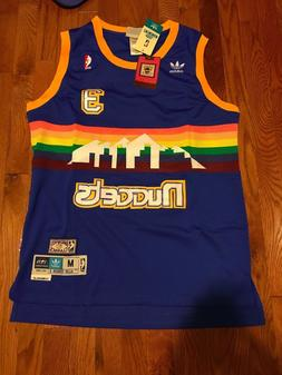 Allen Iverson #3 Denver Nuggets Jersey Basketball Throwback