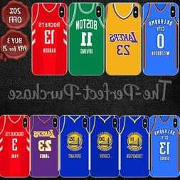 NBA Basketball Jersey Case Cover For iPhone 5 5s SE 6 6s 7 8