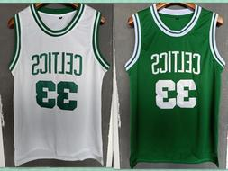 Boston Celtics Retro 33 Larry Bird Celtics Man  Basketball J