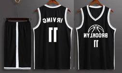Brooklyn Kyrie Irving 11 - Kid Youth Basketball Jersey w/ Sh