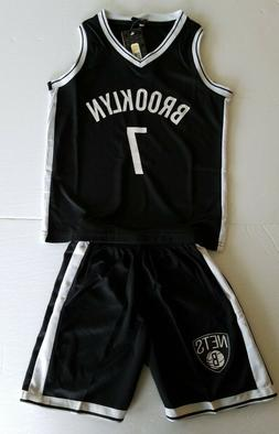 Brooklyn Nets Kevin Durant 7 Kids Basketball Jersey Shorts S