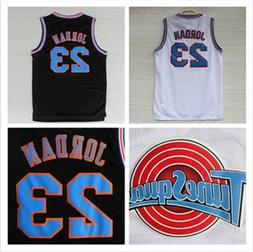 Champion sticthed Space Jam Tune Squad Basketball Jersey Mic
