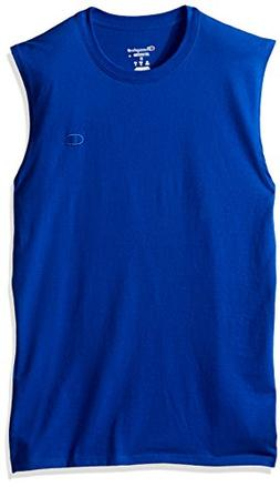 Champion Men's Classic Cotton Muscle Tee Surf The Web XL