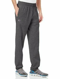 Champion Men's Closed Bottom Light Weight Jersey Sweatpant,