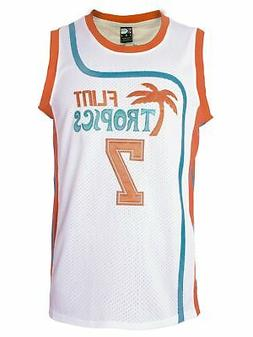 MOLPE Coffee Black 7 'Flint Tropics' Basketball Jersey S-XXX