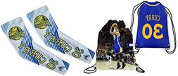 Curry Arm Sleeves Pack of 2 White Compression Shooter Arm Sl