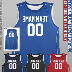 Custom Basketball Jersey - Youth to Adult - Four Colors Avai