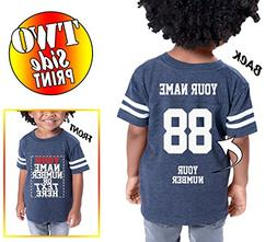 Custom Cotton Jerseys for Toddlers and Kids - Make Your OWN