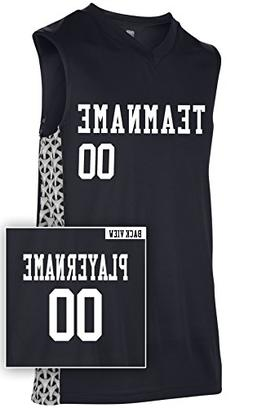 Adult Custom Mettle Basketball Jersey, Personalize with YOUR