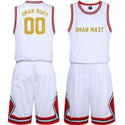 Custom Personalized Sports Basketball Jersey/shorts Mens You