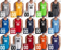 CUSTOM Tank Top JERSEY Personalized ANY COLOR Name Number Te