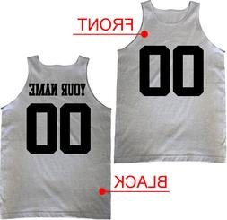 Custom Text Name Number Front Back Team Basketball Jersey Sp