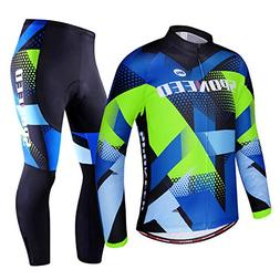 sponeed Men's Cycling Outfit Bike Suit Spring Biking Riding