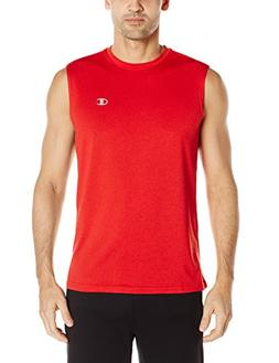 double dry heather muscle tee