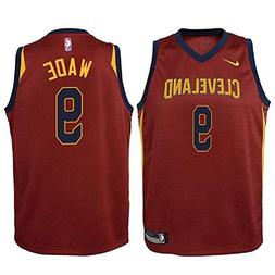 Nike Dwyane Wade Cleveland Cavaliers NBA Youth Burgundy Road