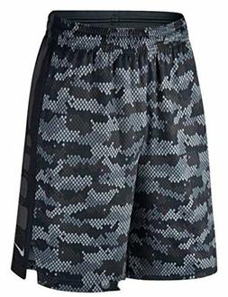 Nike Elite Training Dri-Fit Basketball Shorts Black Gray 776