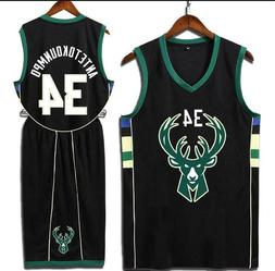Giannis Antetokounmpo Jersey Men's Shorts Pants Sleeveless B