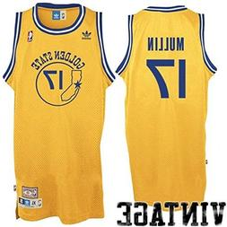 Golden State Warriors Chris Mullin Gold Soul Adidas Swingman