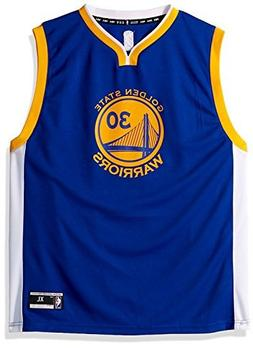 Golden State Warriors Youth Stephen Curry Road Replica Jerse