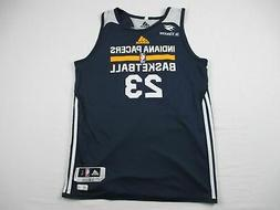 Indiana Pacers adidas Practice Jersey Men's Used Multiple Si