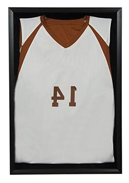 jersey wall display case shadow box, 20 inches x 30 inches,
