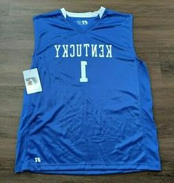 KENTUCKY WILDCATS NCAA BASKETBALL JERSEY #1 ADULT MENS S M L