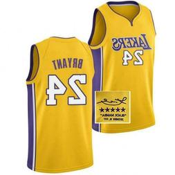Kobe Bryant 24 Jersey Los Angeles Lakers Basketball Jerseys