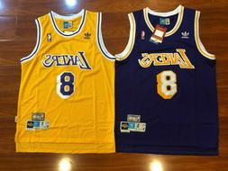 Kobe Bryant #8 Los Angeles Lakers Basketball Jersey NWT Men'