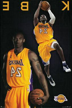 Kobe Bryant Poster Los Angeles Lakers Basketball Jersey Numb