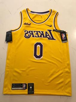 Kyle Kuzma Nike Lakers Swingman Basketball Jersey NWT. With/