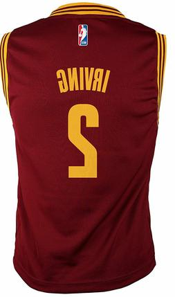 Outerstuff Kyrie Irving Youth Cleveland Cavaliers Wine Repli