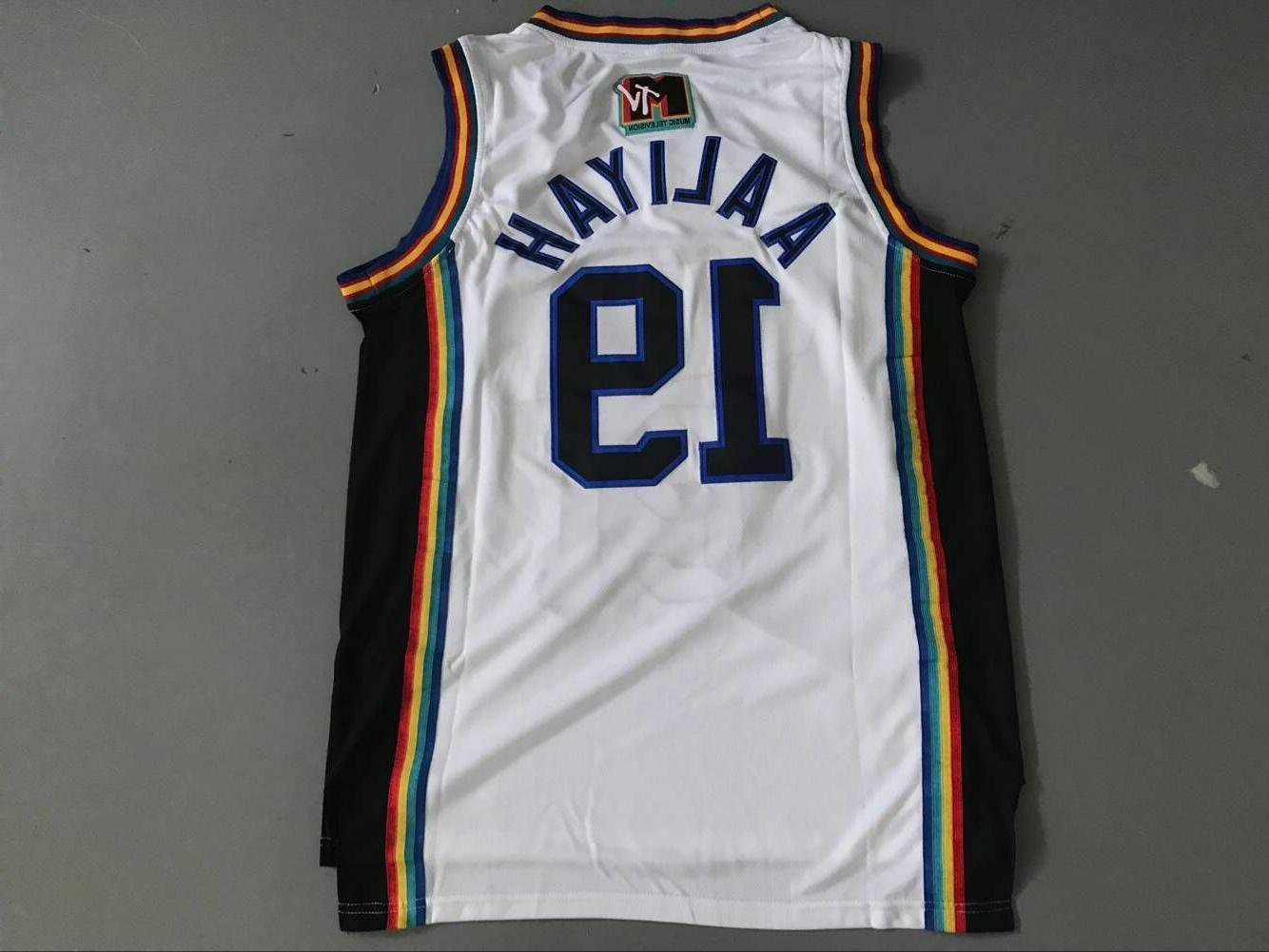 Aaliyah Jersey ALL Stitched