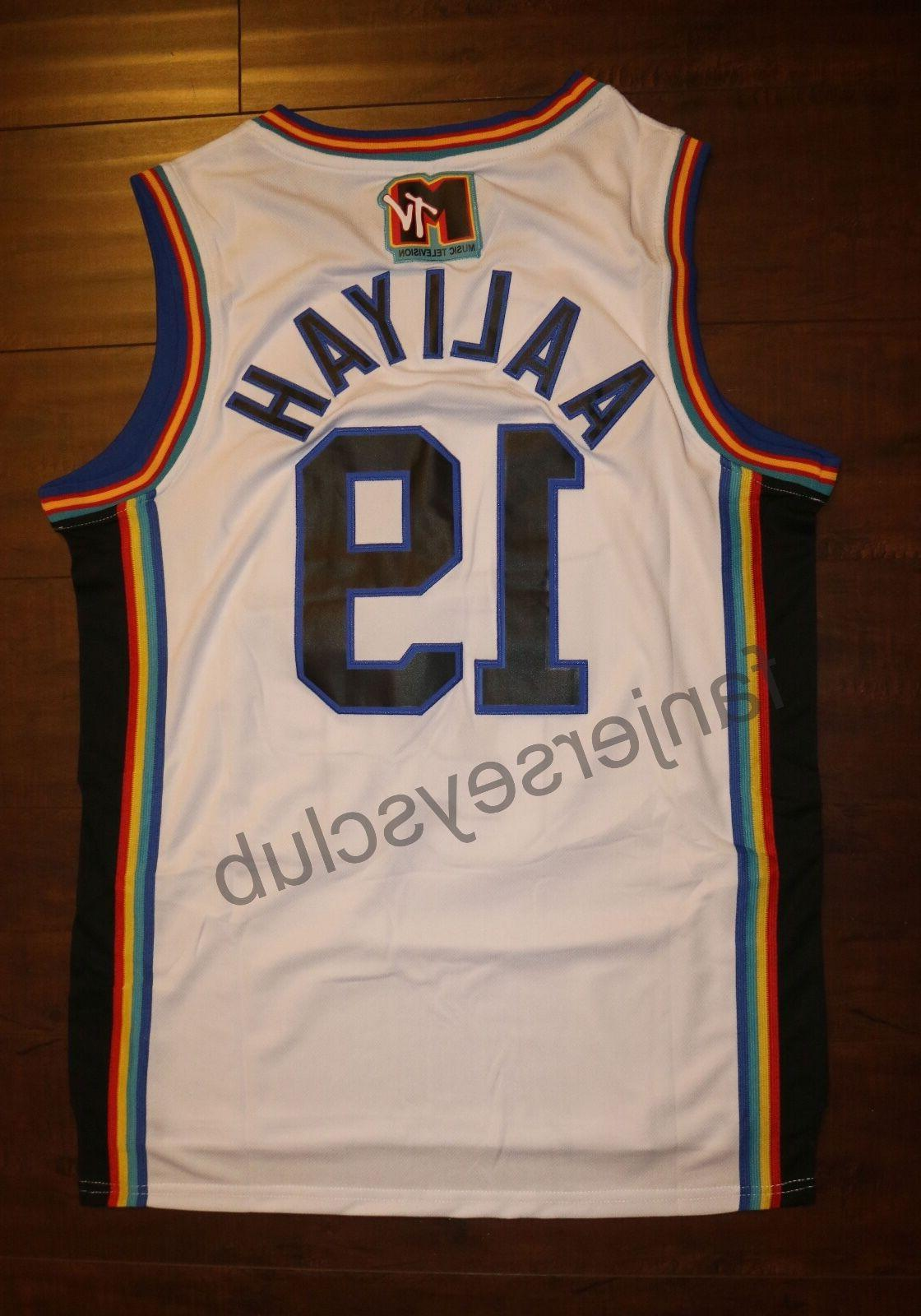 Aaliyah #19 Bricklayers Basketball Jersey N S, M, L,