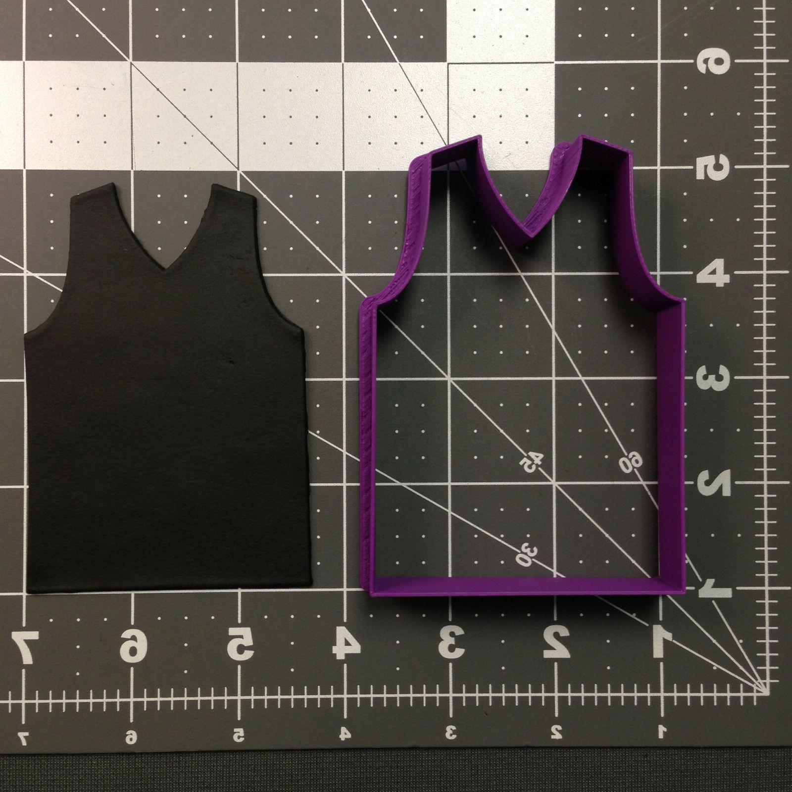 Basketball Jersey 101 Cookie Cutter