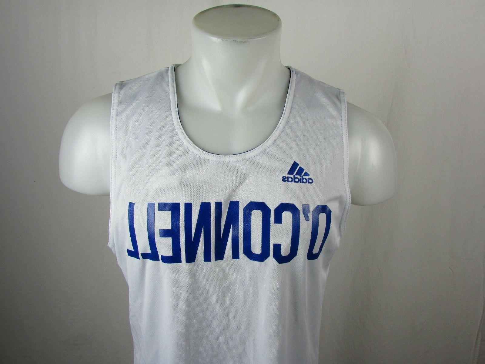 Adidas Blue/White O'Connell Player ID Reversible Basketball