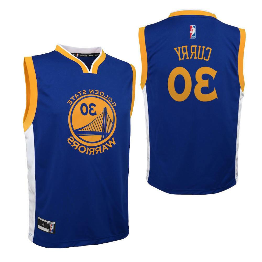 BOY'S LARGE 14/16 Steph Curry Golden State Warriors Basketba