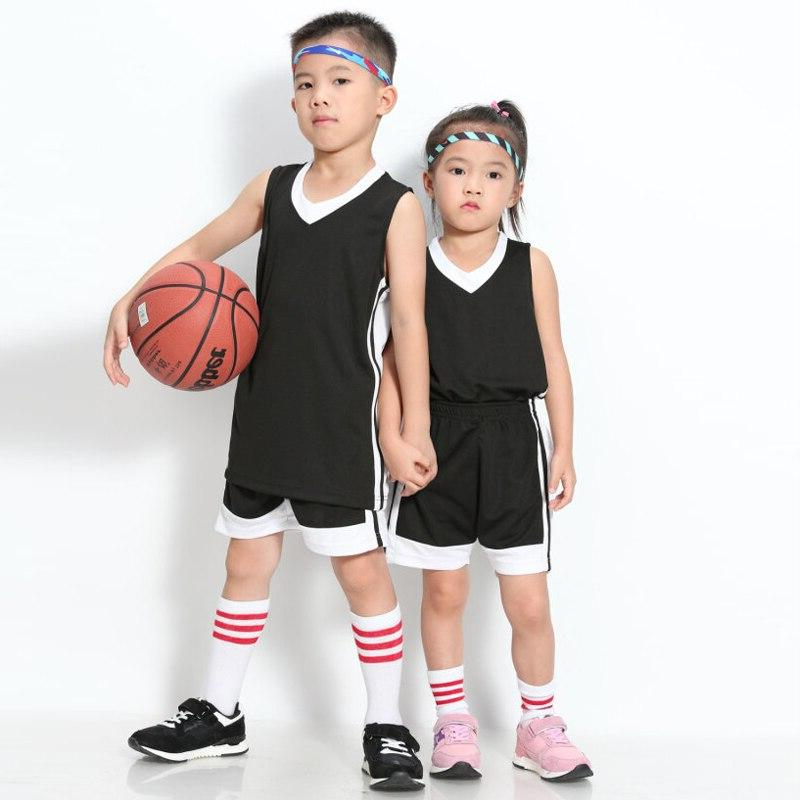 Uniforms Custom Child Sports Clothes Breathable Sports Running Shirts Shorts
