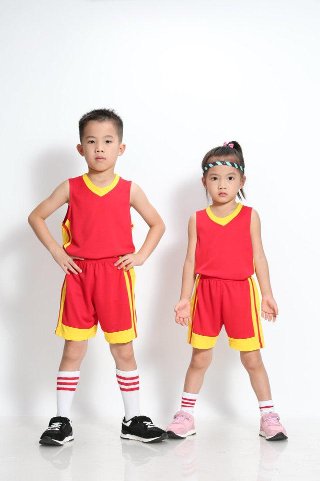 Boys/Kids Uniforms Kits Custom Sports Running <font><b>Jersey</b></font> Shorts