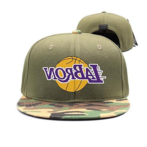 camo printed womens mens camouflage snapback caps