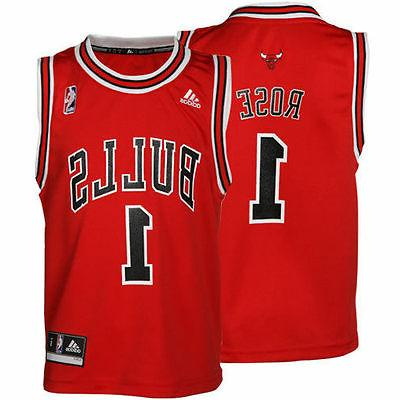 ADIDAS CHICAGO BULLS DERRICK ROSE #1 SWINGMAN BASKETBALL JER