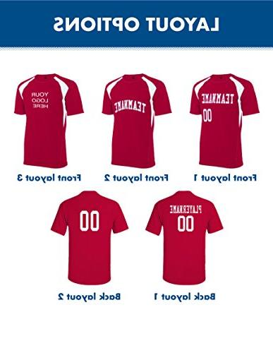 Adult Jersey, with Your Names, and Colors