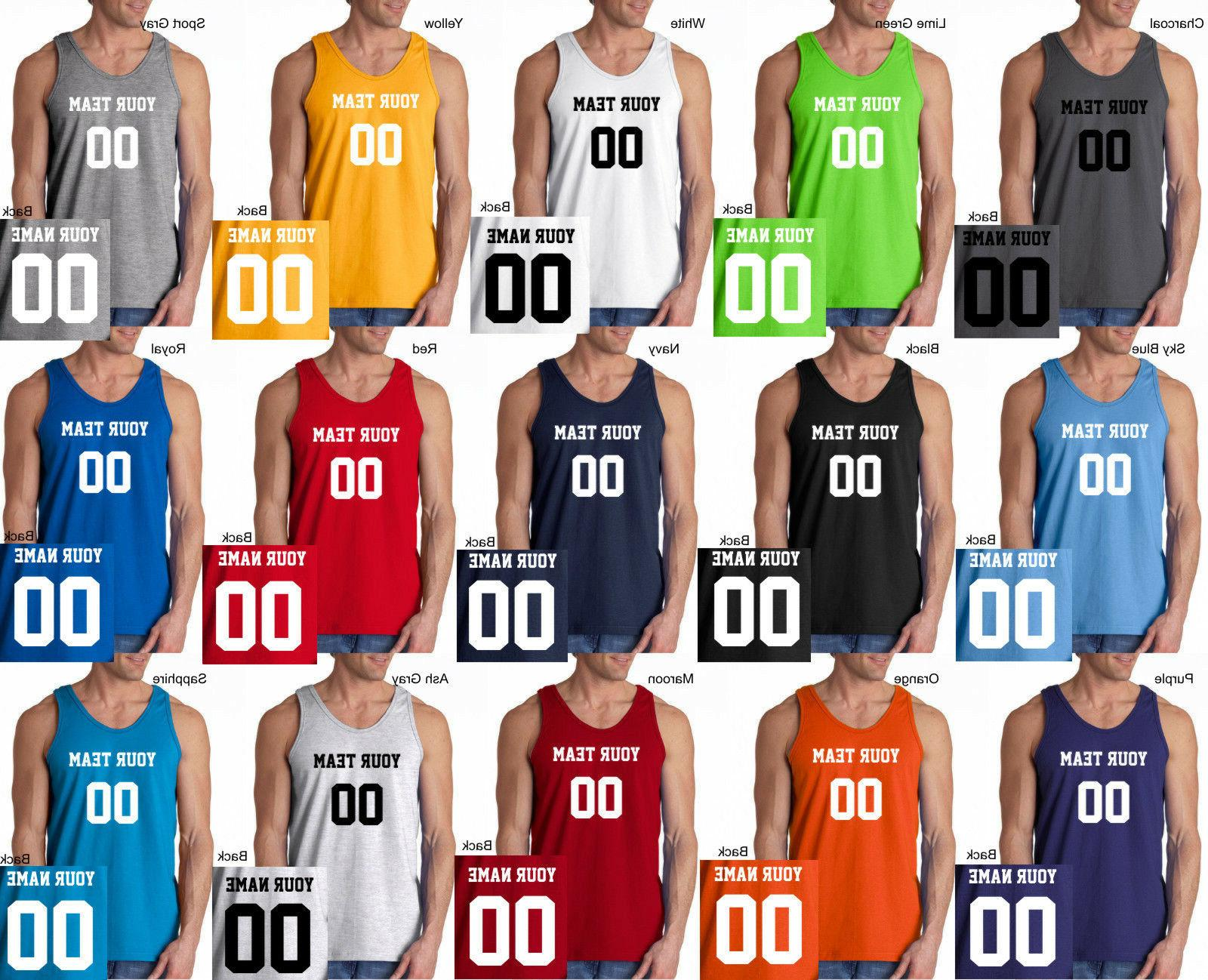 custom tank top jersey personalized any color