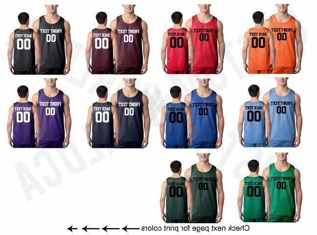 customized adult jersey team shirts name number