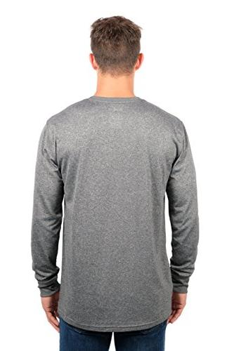 Denver Athletic Sleeve Shirt, Medium, Charcoal