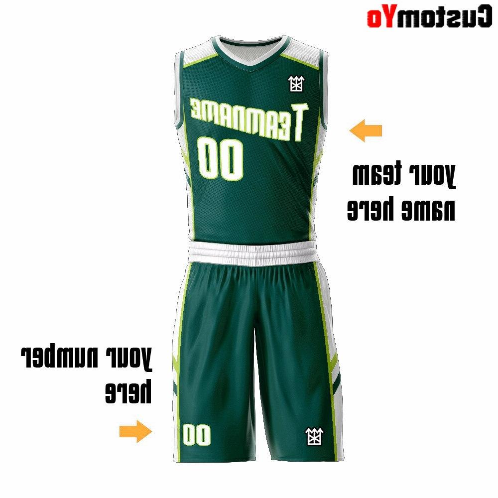 Digital <font><b>Basketball</b></font> Boy size Green Shorts