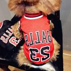 dog sports jersey apparel dog clothes t